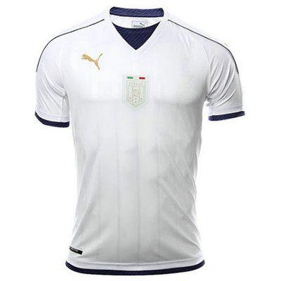 Segunda Equipacion Camiseta Italia 2016/2017