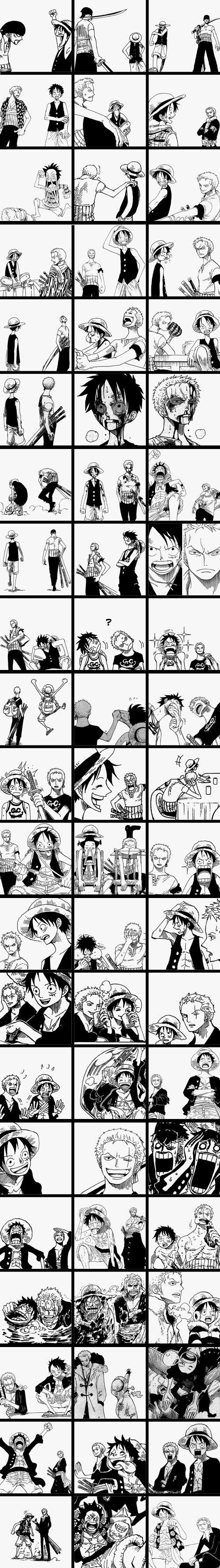 Luffy & Zoro | One Piece