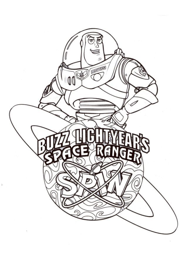 buzz lightyear coloring pages for kids enjoy coloring