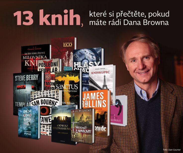 NEOLUXOR: 13 knih, které si přečtěte, pokud máte rádi Dana Browna