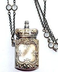 antique vesta case necklace: Antiques Silver, Antiques Vesta, Antiques Jewelry, Vesta Necklace, Cases Necklaces, Vesta Cases, Antiques Necklaces, Antiques Victorian, Antique Vesta