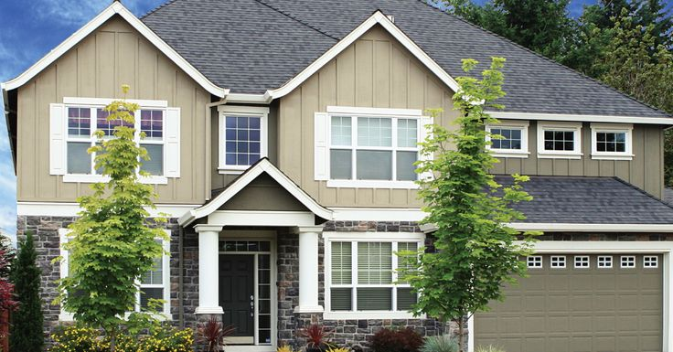 Largely made from recycled products, Sierra Steel is 100% recyclable. #siding
