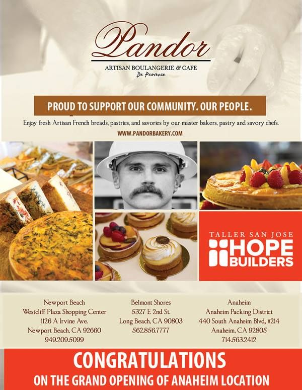 Pandor Bakery support Hope Builders organization to help provide training and education to our community. #tsjhopebuilders #giveandsupport http://ow.ly/4nf9ok