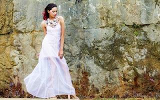 walk the line sheer dress