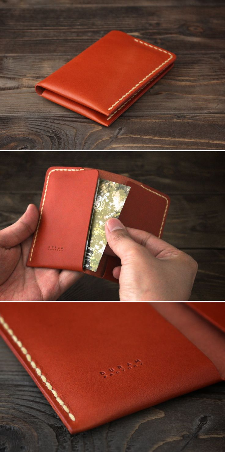 leather card case   Duram Factory