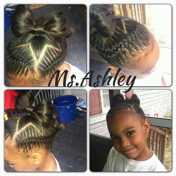 Astonishing 1000 Images About Love The Kids Braids Twist And Natural Styles Short Hairstyles For Black Women Fulllsitofus