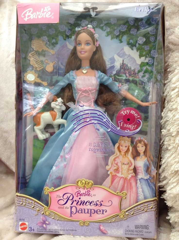 Barbie Princess And The Pauper Erika And Anneliese Dolls ...