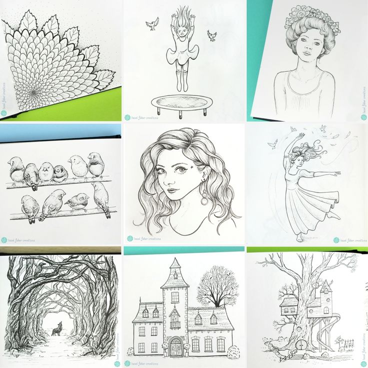 A roundup of some of my favourite drawings from Inktober 2017 by Hazel Fisher Creations  #sketchbook #inktober #drawing #inktober2017 #inkdrawing #art
