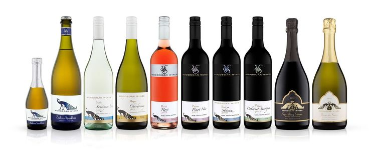 Woodsoak Wines range 2016