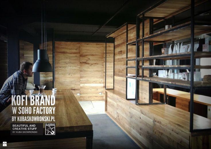 Wnętrza biurowe styl Industrialny - zdjęcie od kubaskowronski.pl - Wnętrza biurowe - Styl Industrialny - kubaskowronski.pl
