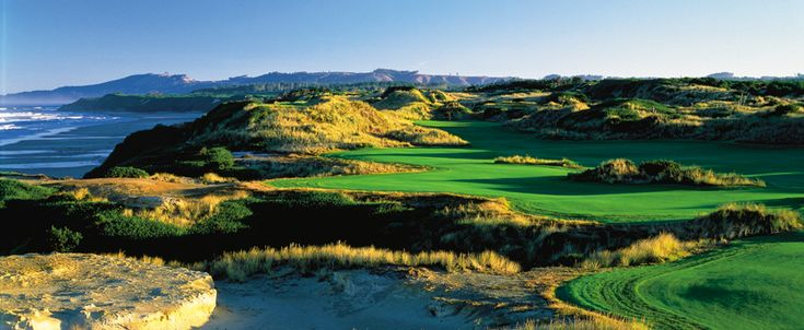 For the West Coast Trip:  Bandon Dunes in Oregon  #ridecolorfully