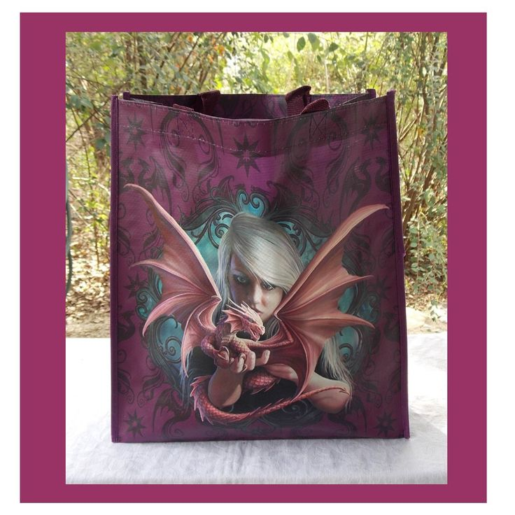 ANNE STOKES SHOPPING BAG DRAGONKIN I COOL CAT COLLECTABLES