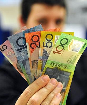 Australian Dollars - they can be washed and don't turn to mush