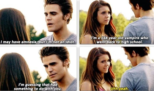 """Stefan: """"I may have amnesia, but I'm not an idiot. I'm a ..."""