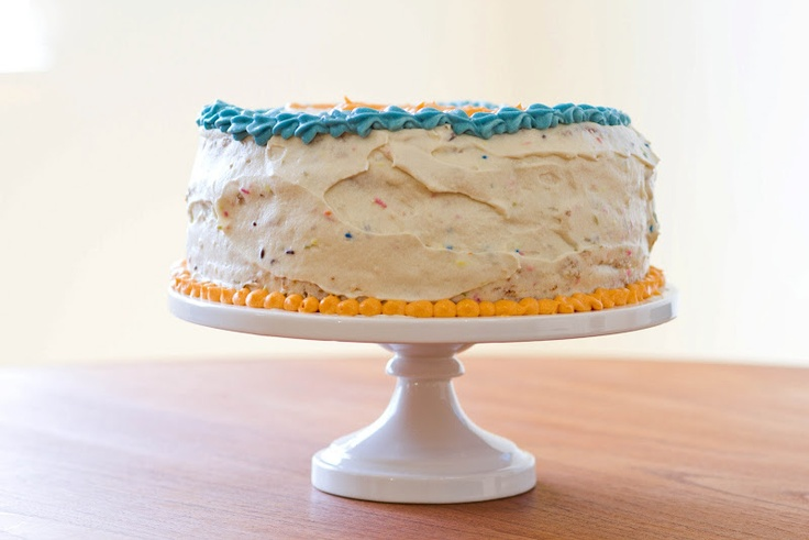 Homemade Funfetti Cake (With Alice Waters vanilla cake ...