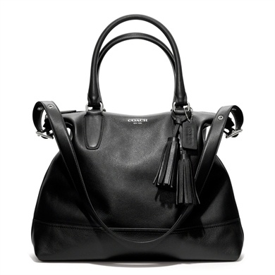 COACH legacy leather rory satchel = my new bag!