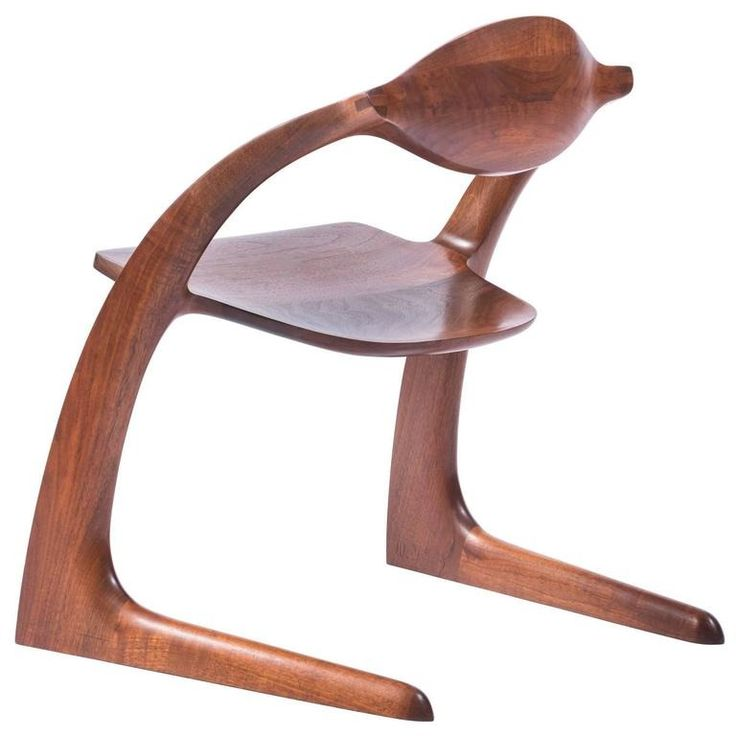 Wendell Castle Zephyr Chair, 1979