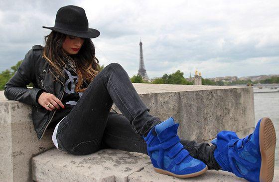 Amaaazing Sneakers!! \o/ - PARÍS JE T'AIME (by ANGELA ROZAS SAIZ)