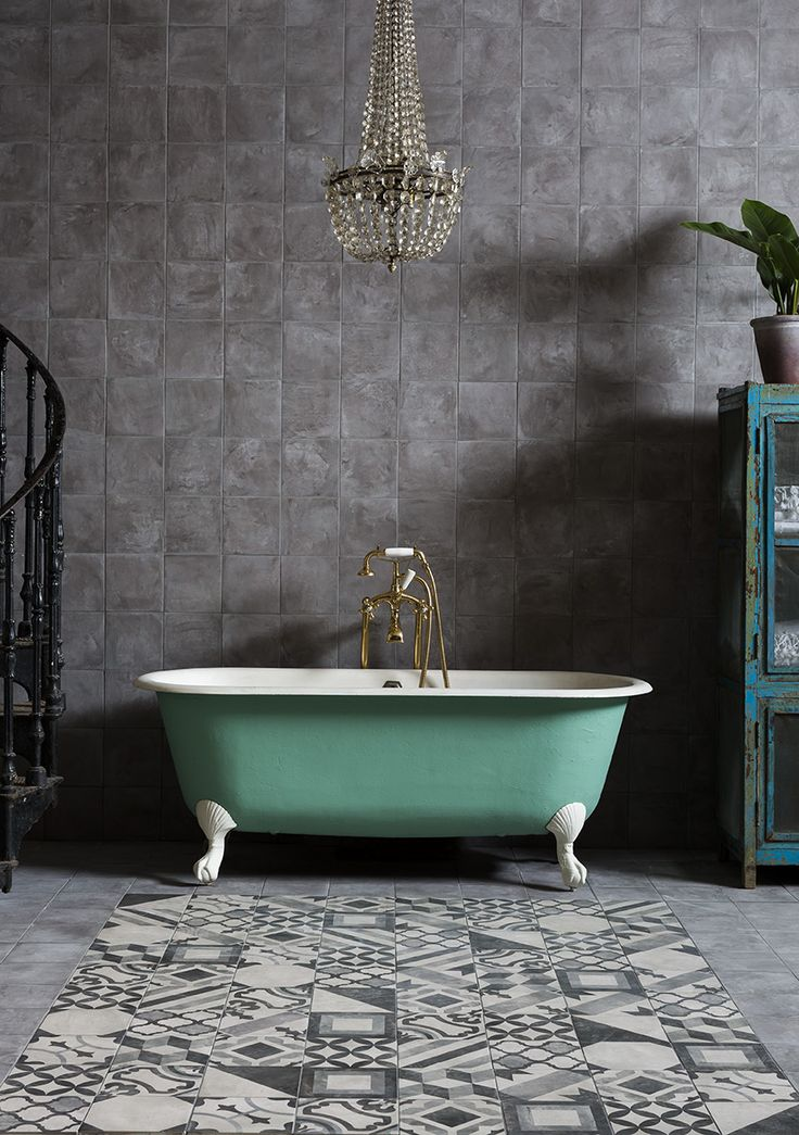 Casablanca Mono Dark Grey and Mono Decor Decorative & Glazed tiles.