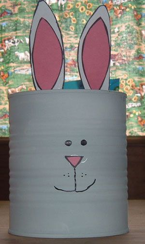 231 best crafting with cans images on pinterest christmas trees making a formula can easter bunny negle