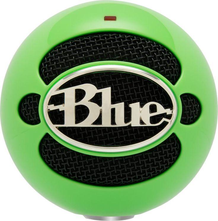 Blue Microphones Snowball - Neon Green #WRGamers #Blue Microphones