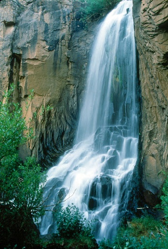 South Clear Creek Falls, Creede CO   © Marsha K. Russell