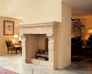 Best 25 limestone fireplace ideas on pinterest french for Isokern outdoor fireplace prices