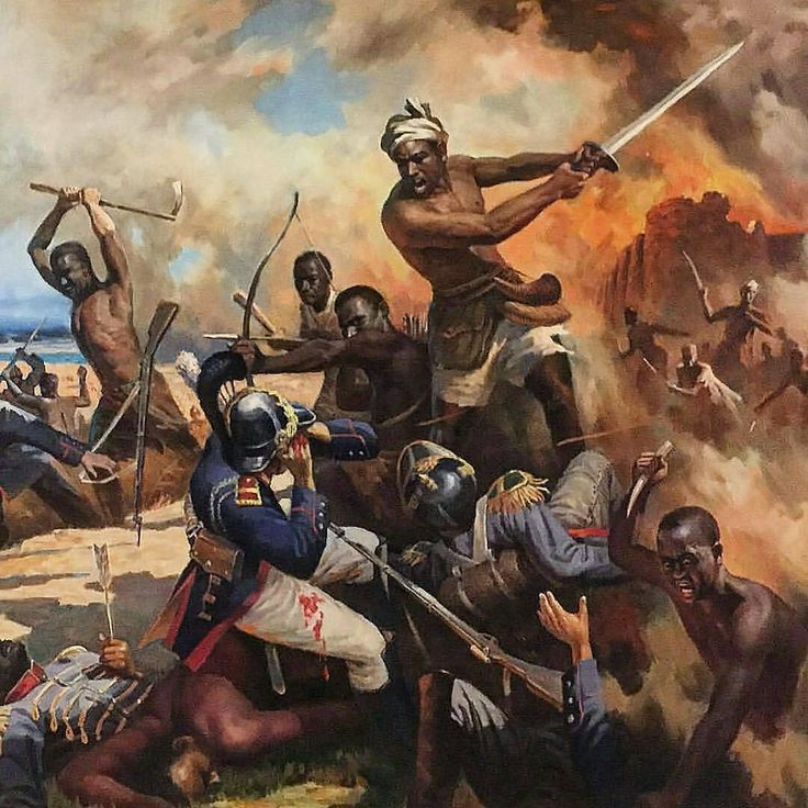 @Regrann from @blackhistoryhitman -  Follow @blackhistoryhitman @theankhlife -  BLACKS WERE NEVER WEAK WE FOUGHT AND WON MANY UNWRITTEN BATTLES[Depiction of the first colonial battle in present day Mali painted by a north Korean artist. Painting hangs in a private residence in Bamako. (via @joepenney)   #lifeoncanvas   #TheAnkhlife   #100 %Sapien -  #regrann