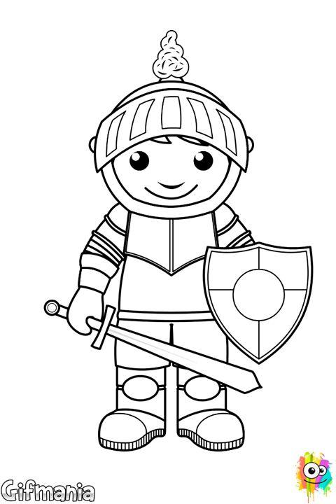 Children knight #knight #fantasy #drawing