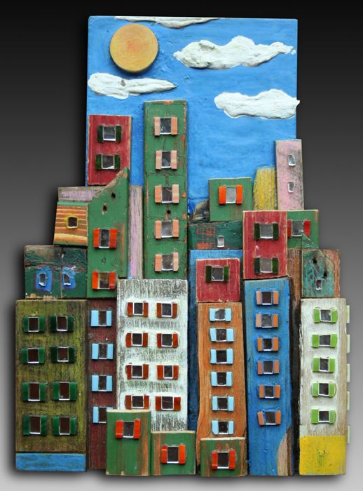 City in wood