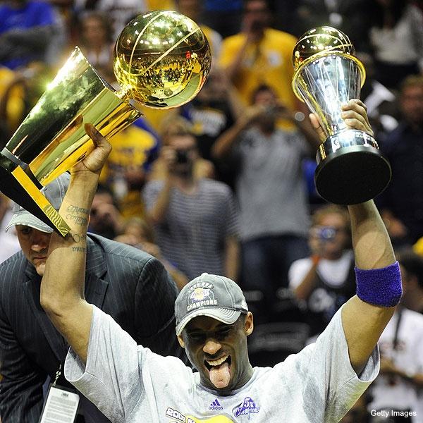 Kobe Bryant - Champion & MVP Finalist