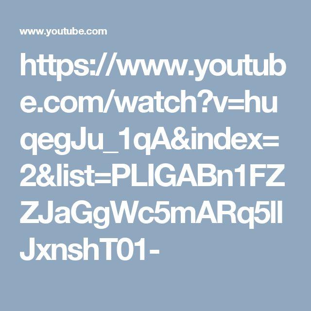 https://www.youtube.com/watch?v=huqegJu_1qA&index=2&list=PLIGABn1FZZJaGgWc5mARq5llJxnshT01-