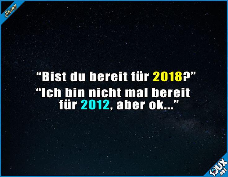 Ich brauch noch Zeit! #Silvester #Neujahr #FröhlichesneuesJahr #Sprüche #quotes