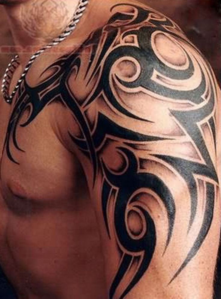 mens tribal tattoos - Google Search