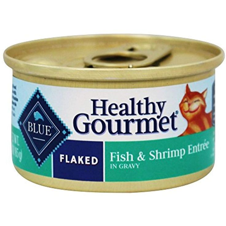 Blue buffalo healthy gourmet canned cat food flaked fish
