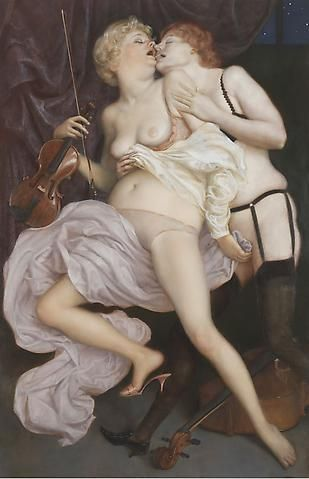 John Currin - the conservatory
