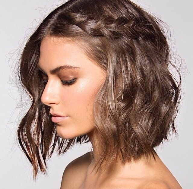 Style for short hair