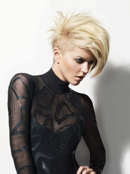 Strange 1000 Ideas About Short Punk Hairstyles On Pinterest Buzz Cut Short Hairstyles For Black Women Fulllsitofus