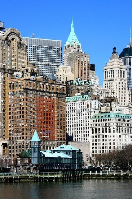 Waterfront, Battery Park, New York | Wonderful Places