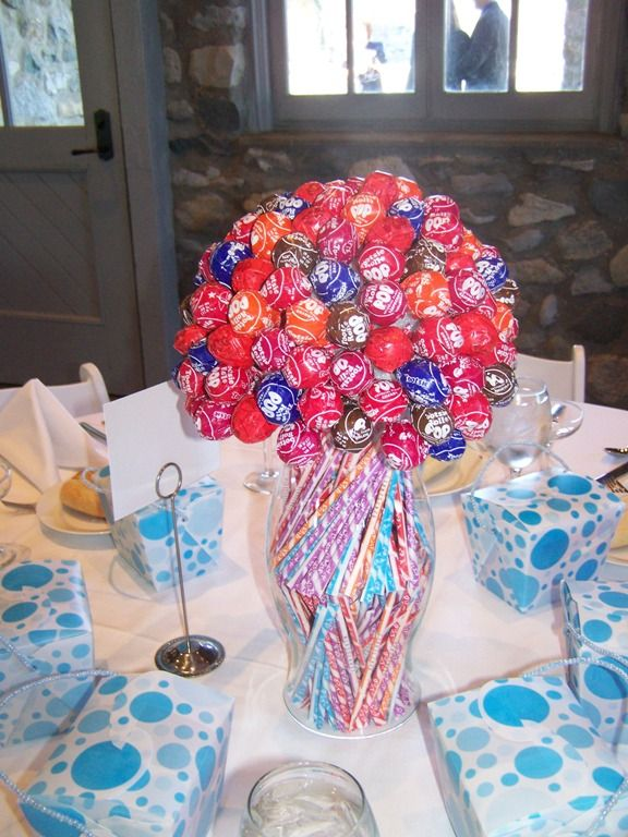 I loved this boquet of candy