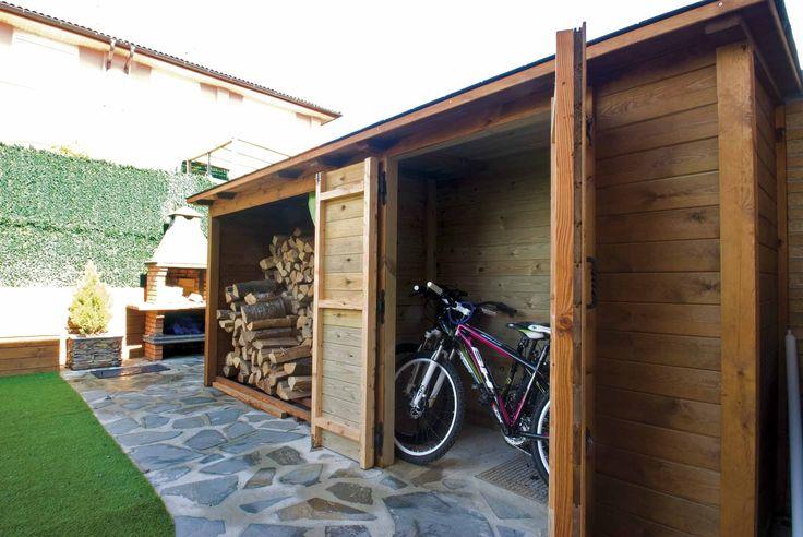 Caseta de madera para mantenr todo limpio y ordenado