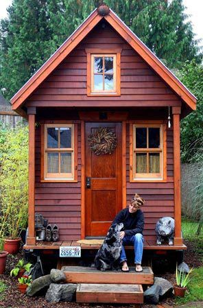 Perfect tiny house.