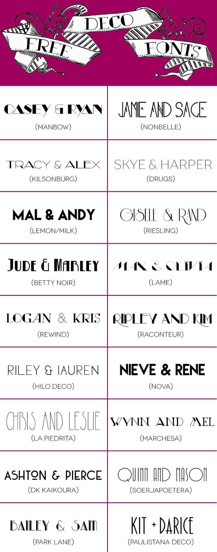 Best Fonts Images On Pinterest Font Pairings Script Fonts - Birthday invitation fonts