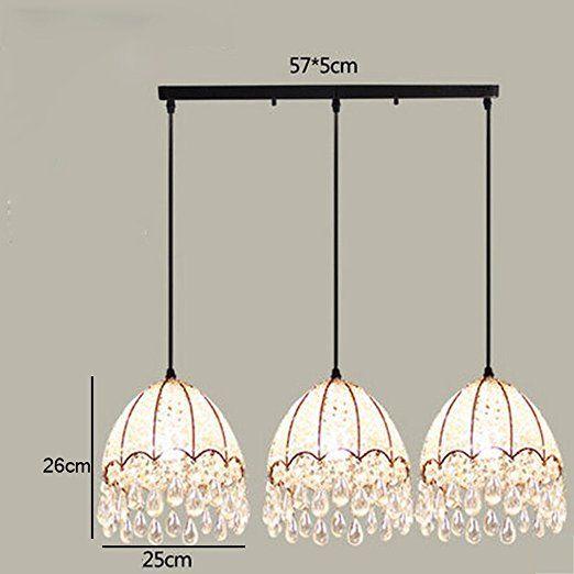 lampadario Campagna Lampadari creativi semplici e moderni bellissimi lampadari di cristallo ( dimensioni : M-C. )