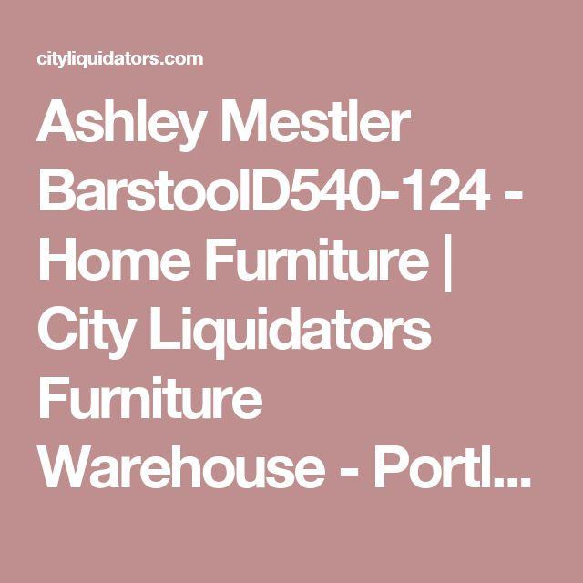 Ashley Mestler BarstoolD540-124 - Home Furniture | City Liquidators Furniture Warehouse -   Portland, OR's leader in new Home and Office Furniture - City Liquidators