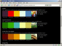 automatic color palette generator... input an image, it outputs a dull and vibrant palette! must keep for redecorating and web design!