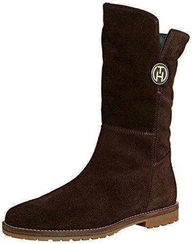 Oferta: 179.9€ Dto: -28%. Comprar Ofertas de Tommy Hilfiger WENDY 4B - Botas de cuero para mujer, color marrón, talla 39 barato. ¡Mira las ofertas!