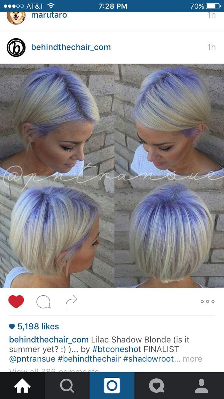 best purple hair images on pinterest colourful hair hair ideas