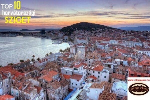 Top 10 horvátországi sziget a #Villa #Caesar írásában.