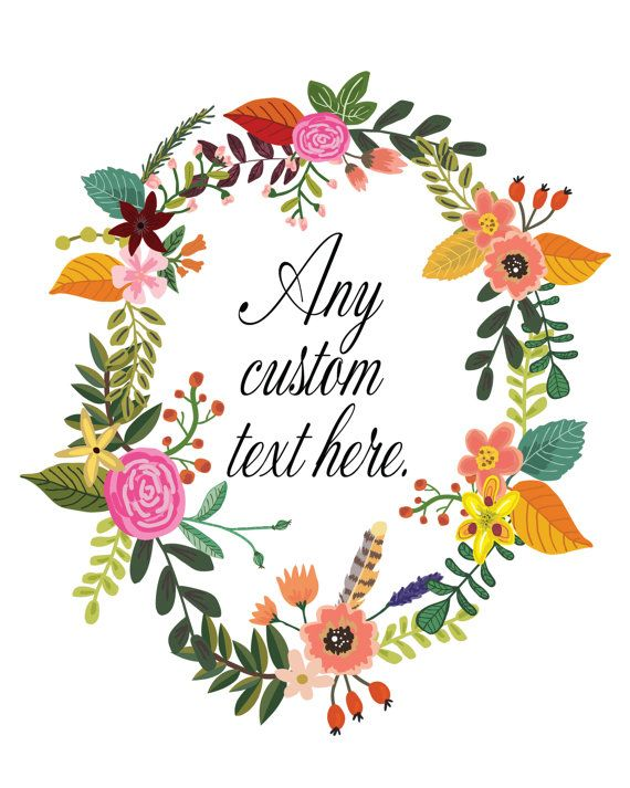 17 best images about floral quote prints on pinterest